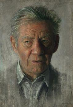 Sir Ian Mckellen by Sam Spratt
