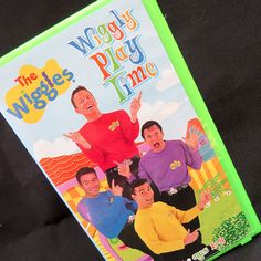 The Wiggles Wiggly Play Time VHS Video Tape 2001 Video Tape Children Learning Wag The Dog, The Wiggles, Teaching Aids, Kids Videos, Pranks, Live Action, Kids Learning, Cool Kids, Tape