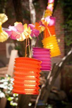 Lanterne décoration Hawaii