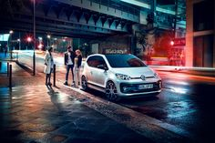 The all new VW up! GTI photographed in the streets of Berlin.