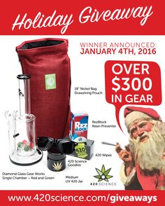 420 Science Holiday Giveaway!