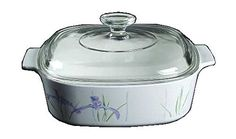 Corning Ware Shadow Iris Square Casserole w Lid  2 Quart   A2B  ** Click image for more details.