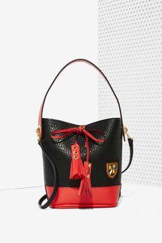 Fleur Bucket Bag - Bags + Backpacks