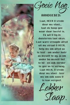 Evening Greetings, Good Night Greetings, Evening Quotes, Goeie Nag, Afrikaans Quotes, Good Night Quotes, Sleep Tight, Wish, Poems