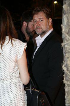 Russell Crowe (Foto: Felipe Assumpção e Alex Palarea/AgNews).  Russell Crowe participa de pré-estreia do filme 'Noé', no Rio.