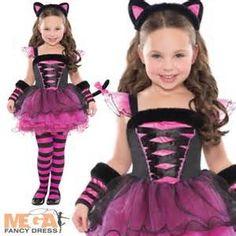 Pink Girls Cat Halloween Costumes - Bing Images