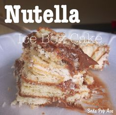 Biscoff and Nutella on Pinterest | Nutella, Nutella Brownies and ...