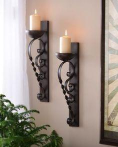 Twisted Pillar Sconce, Set of 2 #kirklands #innovativedesign
