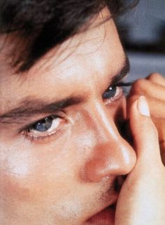 Alain Delon, yeux azur