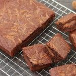 Dulce de Leche Brownies Blondie Brownies, Banana Bread, Muffins, Cupcakes, Desserts, Food, Dulce De Leche, Sweets, Muffin