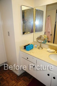Scipione Bathroom Before - Westwood, CA Vanity, Interior Design, Bathroom, Home, Dressing Tables, Nest Design, Washroom, Powder Room, Home Interior Design