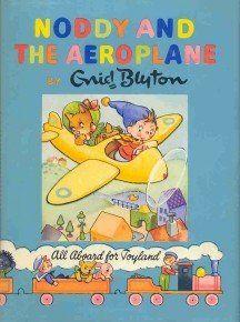 Noddy and the Aeroplane by Enid Blyton last book 1963