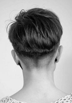 This is such a prefect fade cut for her with just the right amount of length midway up the back of her head. Perfect haircut for summer