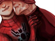 Read from the story Imágenes Spideypool/SuperFamily Y Otros CANCELADA. Spideypool, Superfamily, Marvel 3, Marvel Memes, Marvel Universe, Deadpool X Spiderman, Parker Spiderman, Spiderman Spider, Batman