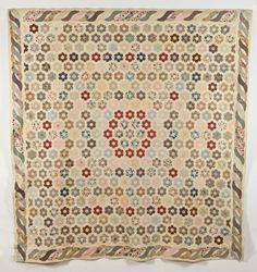 Collections | Quilt Museum and Gallery, York Maker Unknown c1820-1840 Love the outer border