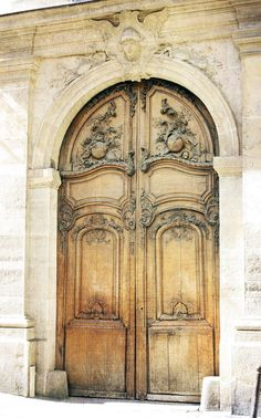 Beautiful french doors    |    French Larkspur