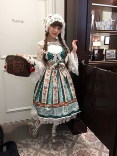 BTSSB  I love country lolita style. So cute and kawaii!