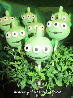 Character Cake Pops - Toy Story 'Aliens'