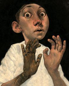 Edward Kinsella Illustration--detail of painting
