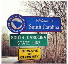 Welcome to South Carolina. Bonus points if you know who Clowney is.  Read about life in Beaufort and the South Carolina Lowcountry at http://ouryardfarmhome.com and http://on.fb.me/1sCgEpa
