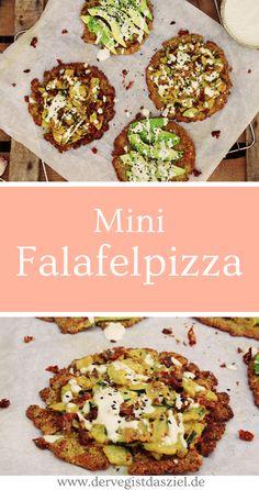 Falafelpizza, vegan, glutenfei