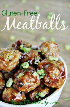 Gluten-Free Meatballs Recipe