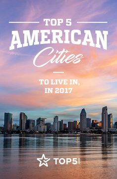 If 2017 reaffirmed anything, it's that the U.S. is home to a wide range of people with a wide range of opinions. It's actually quite amazing how large the country is and all that it includes. With that in mind, we narrowed down the country's Top 5 cities of 2017, weighing their livability in terms of cost and income with their local offerings that make them stand out. See if your city made the cut! #top5 #topfive #travel #americancities