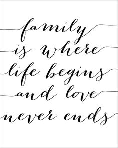 Family is Where Life Begins and Love Never Ends by CraftMei
