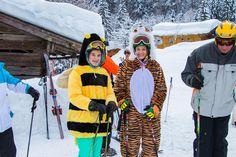 Fasching im Salzburger Saalachtal Winter Jackets, Hiking, Vacation, Winter Coats