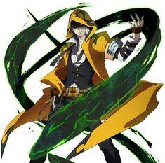 Yuuki Terumi from BlazBlue: Chrono Phantasma