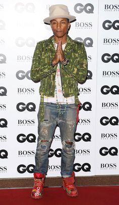 Pharrell Williams_ 2014 GQ Men of the Year Awards | E! Online