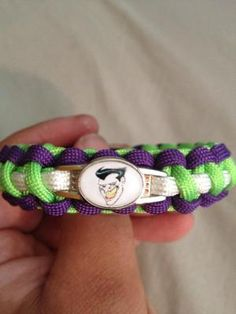 Batman The Joker Handmade Paracord Bracelet NEW Free Shipping