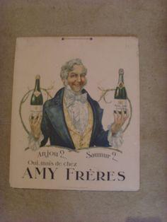 Publicité carton Ets Amy Frères Saumur, Cover, Books, Vintage Gifts, Vintage Christmas, Gift Ideas, Libros, Book, Book Illustrations