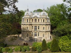 Le château de Monte-Cristo which is close to Paris, about 30 minutes from Gare St. Lazare.