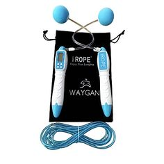Digital Workout Jump Rope with Calorie  Jump Counter Adjustable Skipping Ropes  Carry Bag  Best Fitness Crossfit Equipment for Adults  Kids * Click on the image for additional details.