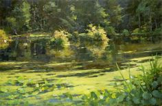 Jim McVicker Paintings: ' The Lake Paintings'