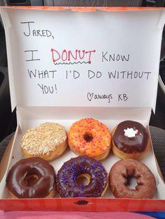 Little surprise breakfast for the boyfriend