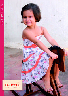 aomi STRAPPY DRESS for little girls
