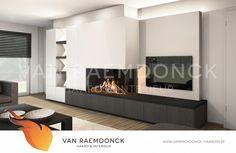 Design TV-meubel - Van Raemdonck - Haard & Interieur