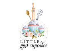 Baker Logo, Cupcake Logo, Logo Image, Kitchen Logo, Restaurant Logo, Florist Logo, Bakery Logo Design, Shop Icon, Branding Your Business