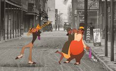 The Princess and the Frog - New Orleans, 1926.