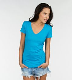 Valorie V Neck #organic #cotton #essential #tees #sustainable #recycled