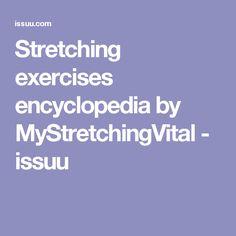Stretching exercises encyclopedia by MyStretchingVital - issuu