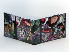 Comic Book Wallet// Doom Patrol// Robotman, Negative Man, and Elasti-Girl, $4.00