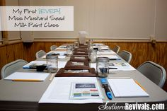 Southern Revivals: My First {EVER} Milk Paint Class A Teaching Revival