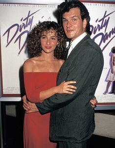 "Jennifer Grey and Patrick Swayze - Premiere of ""Dirty Dancing"" in New York City, August 17, 1987"