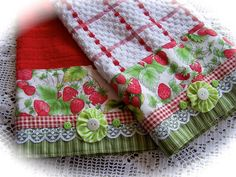 Strawberries for Glenys.   A pair of lovely matching and com…   Flickr