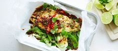 We're always on the lookout for healthy dinner inspo here at Sporteluxe HQ. This delicious chilli, honey and tamari baked fish recipe is a cinch to make and seriously packed with flavour! Fish Recipes, Paleo Recipes, Paleo Food, Savoury Recipes, Good Food, Yummy Food, Baked Fish, Health And Nutrition, Clean Eating