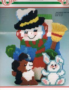 Snowman & Animals 1/5