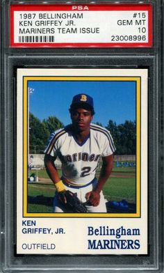f90a6c7a22 nice 1989 Fleer Ken Griffey Jr Rookie #548 baseball 6 card lot. Mint. - For  Sale View more at http://shipperscentral.com/wp/product/1989-fleer-ken-…